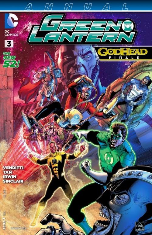 Green Lantern annual # 3