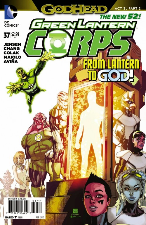 Green Lantern corps # 37