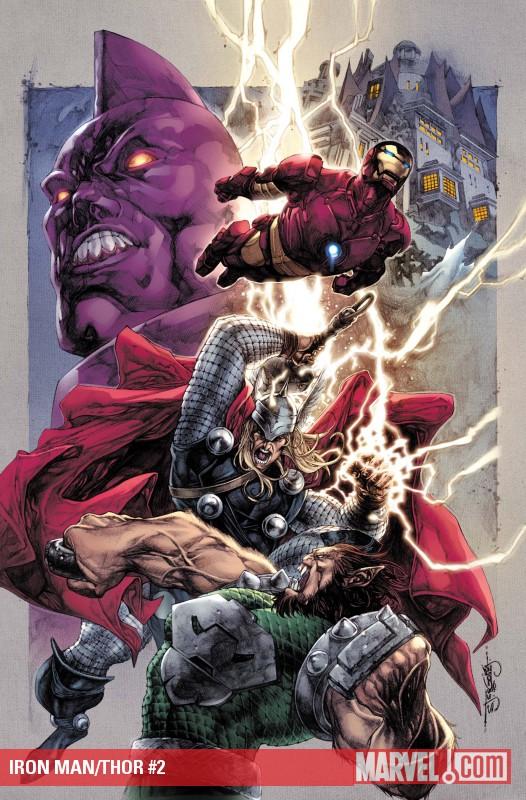 Iron Man-Thor