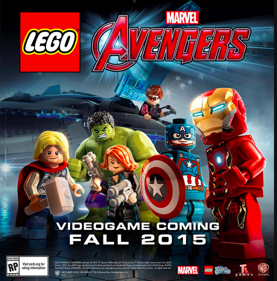 LEGO Marvel Avengers / Portada no definitiva.