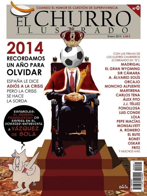 Portada del primer número de la revista El churro ilustrado