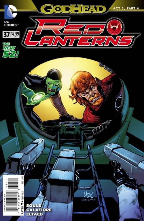 Red Lanterns # 37
