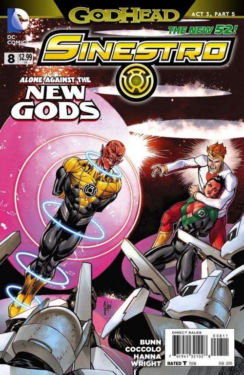 Sinestro # 8