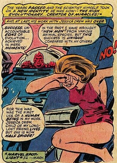 Spiderwoman y el alto evolucioandor
