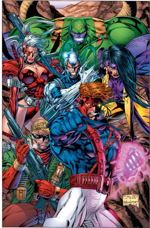 Los Wildcats, por Jim Lee