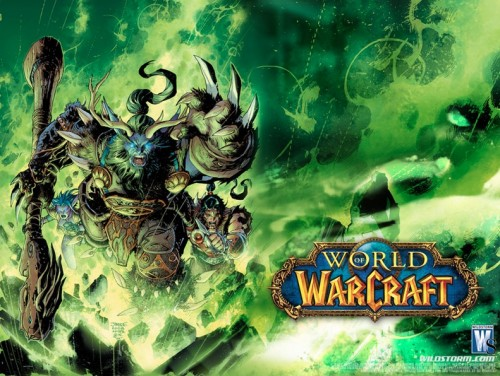 Promo de los cómics de World of Warcraft en Wildstorm