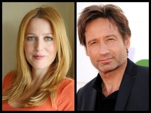 Gillian Anderson y David Duchovny, protagonistas de Expediente X