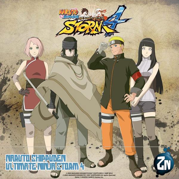 Los personajes de The Last: Naruto the Movie en Naruto: Shippuden Ninja Storm 4 / Bandai