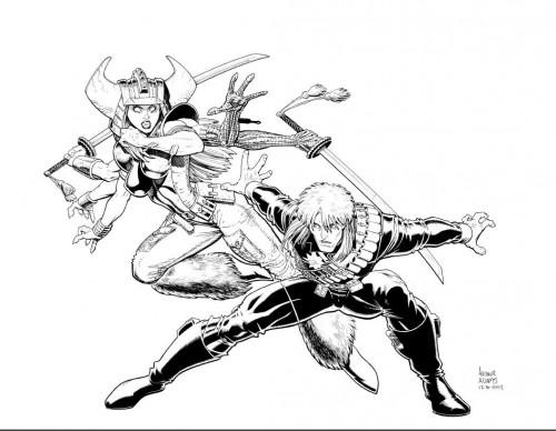 Ilustración de Art Adams