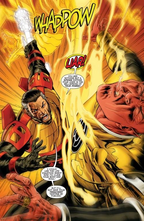 Highfather pone en su sitio a Sinestro