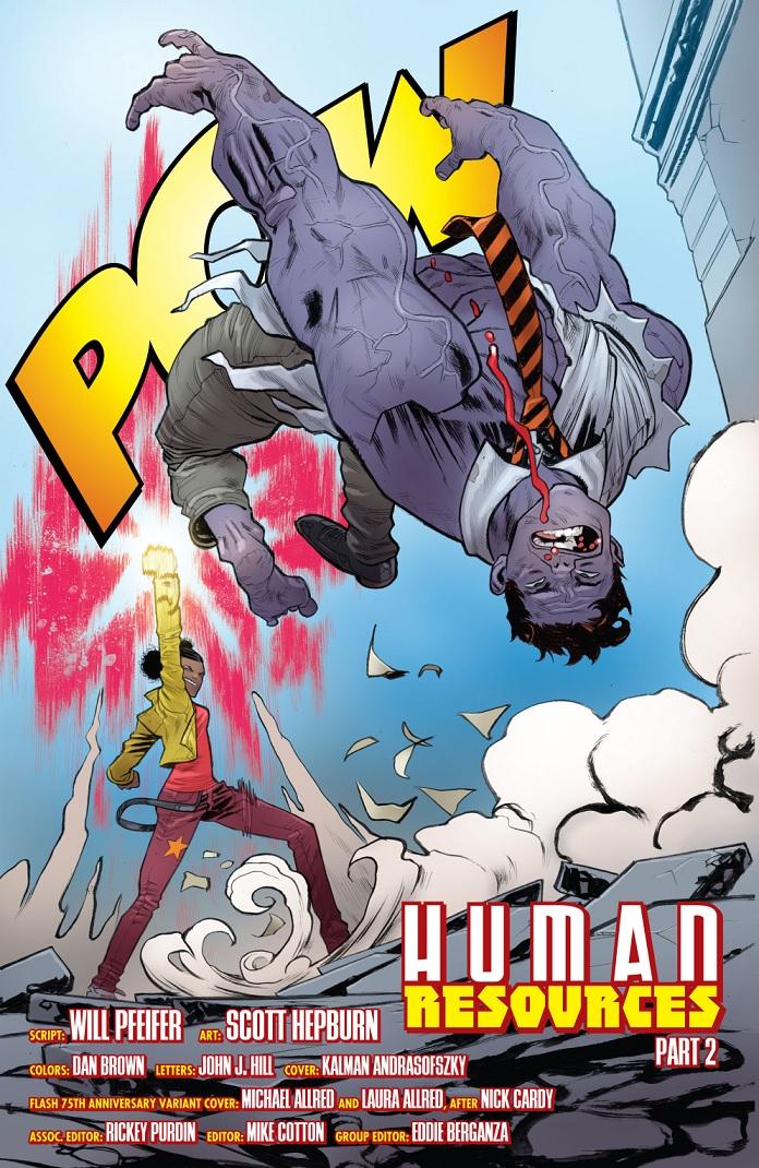 Fuerza, cambios de peinado y cerebro. Tanya Spears en Teen Titans #6 por Scott Hepburn