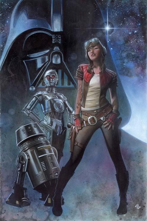 Darth Vader Adi Granov portada
