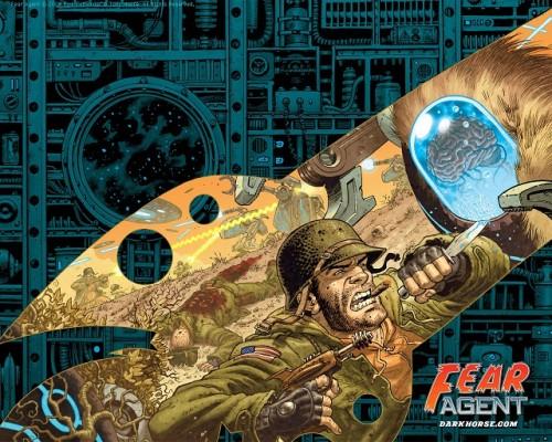 Fear Agent portada 1