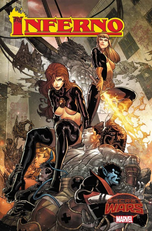 Inferno Secret Wars Jarvier Garron