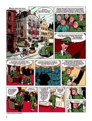 Páginas de El botones verde caqui por Olivier Schwartz