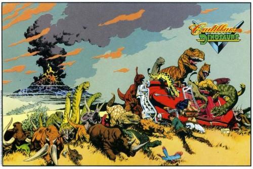 Cadillacs, mujeres hermosas y muchos dinosaurios por Mark Schultz