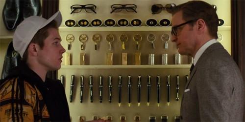 Taron Egerton y Colin Firth, alumno y maestro