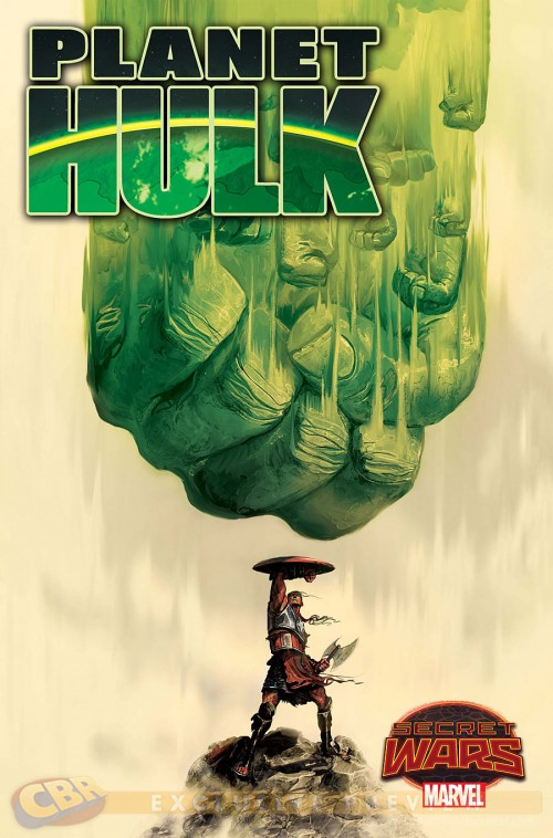 Planet Hulk Mike DelmUNdo