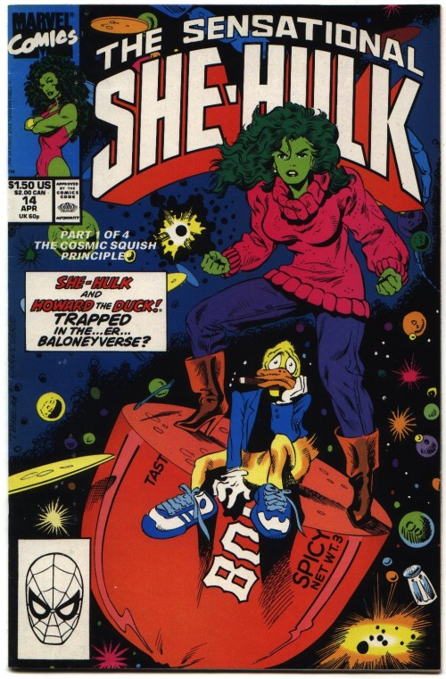 She hulk y Howard