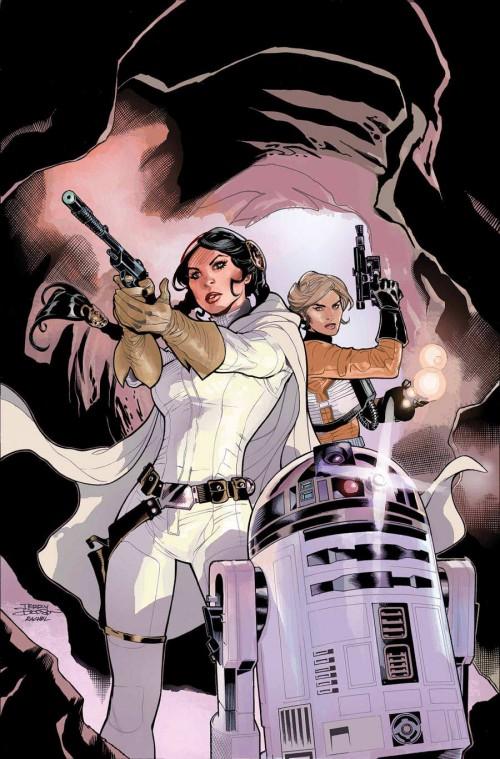 Terry Dodson Princesa Leia portada