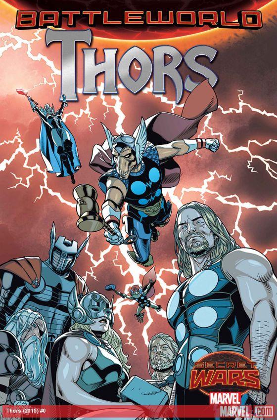 Thors Chris Sprouse Jason Aaron