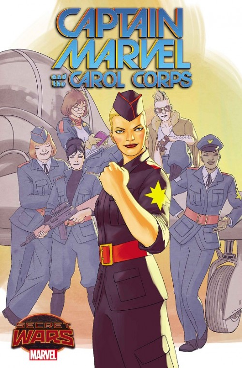 Captain Marvel and the Carol Corps David Lopez