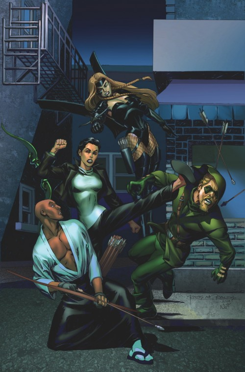 Portada de Convergence: Green Arrow 2