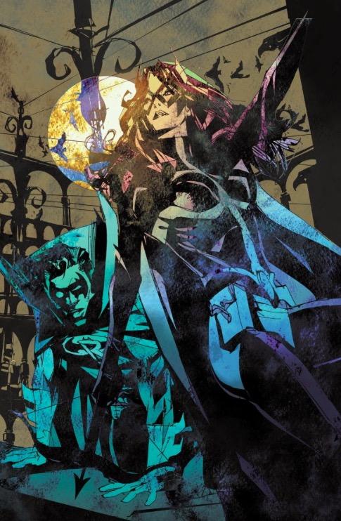 Portada del Detective Comics: Convergence #1