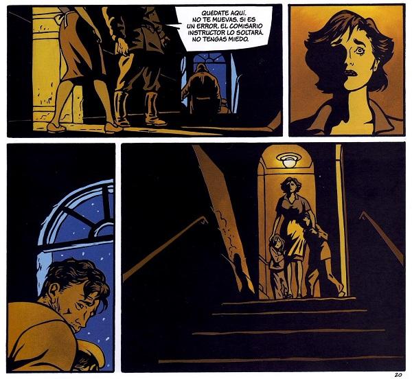 La íntima desolación y la cruda impotencia retratadas en cuatro magníficas viñetas