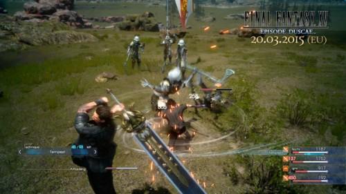 FFXV: Episode Duscae / Lucha contra bichos, soldados con cara verde y mucho más / Square-Enix
