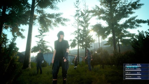 FFXV: Episode Duscae / Bonico del tó. / Square-Enix