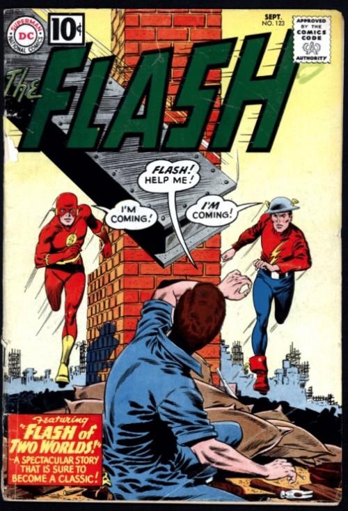 El cómic Flash de dos mundos es el origen del ya asentado concepto del Multiverso