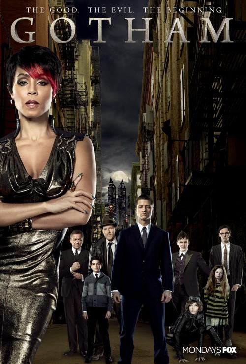 La actriz, protagonista de uno de los carteles de la primera temporada