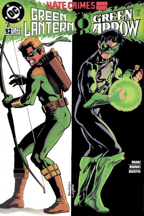Connor Hawke y Kyle Rayner retomarían en legado de Oliver Queen y Hal Jordan