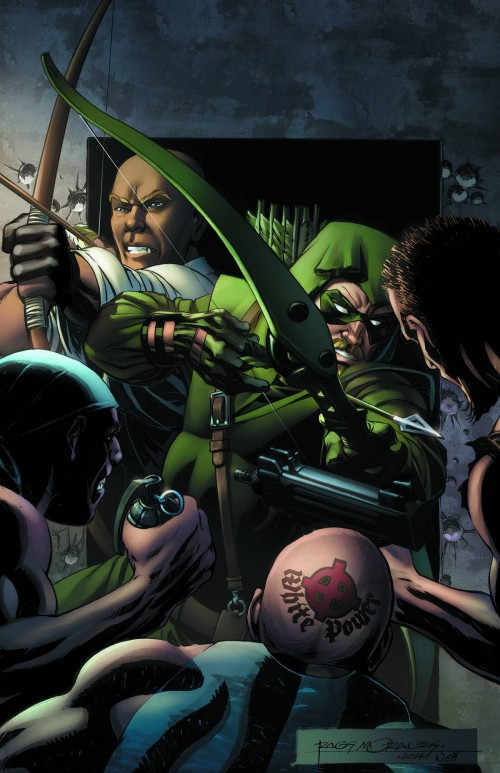 Portada de Convergence: Green Arrow #1