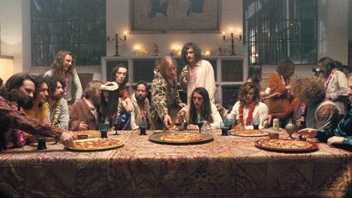 Owen Wilson y el homenaje hippie a la Última Cena