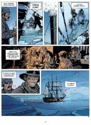 Páginas de En los confines del mundo de Olivier Frasier
