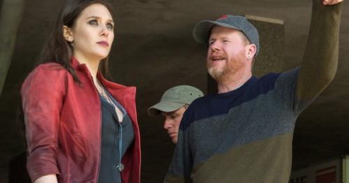 Joss Whedon dirigiendo a Elizabeth Olsen (La Bruja Escarlata)