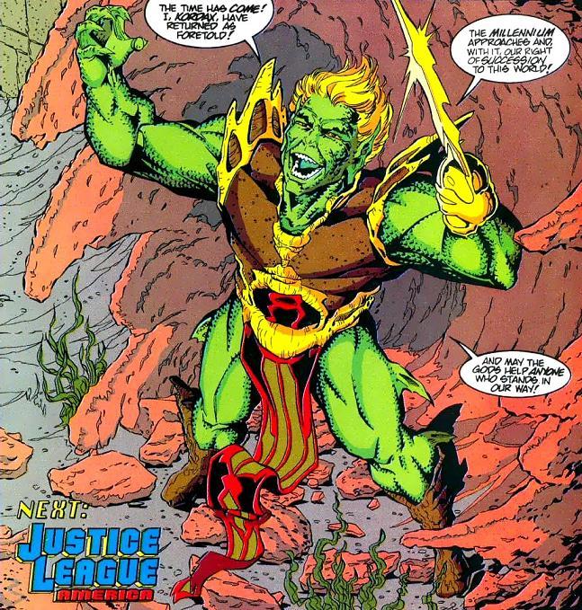 Kordax, toda una némesis para Aquaman