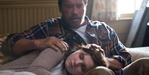 Arnold Schwarzenegger y Abigail Breslin, protagonistas de Maggie