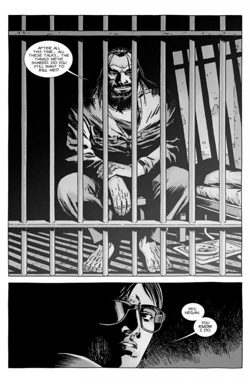 Las conversaciones entre Negan encarcelado y Carl