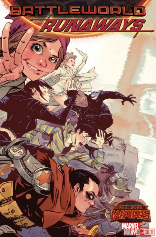 Runaways Secret Wars portada 2
