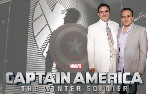 Los hermanos Russo durante la promoción de Capitán América: El Soldado de Invierno