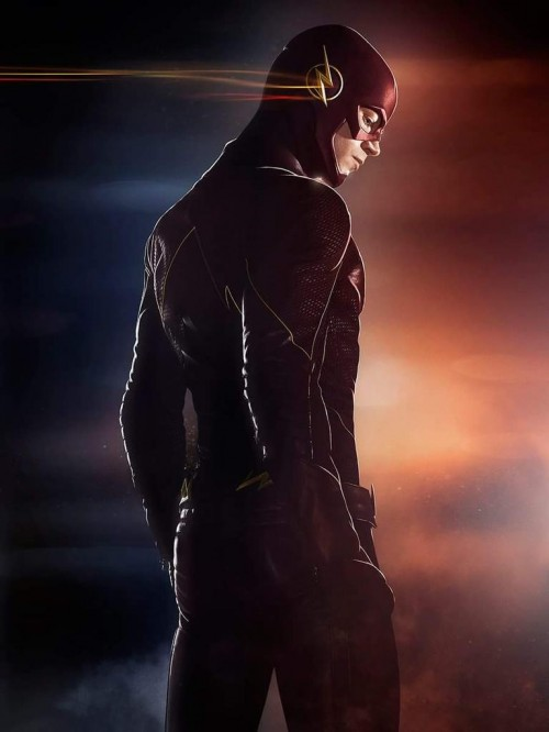 Nuevo poster de The Flash, pose típica de cómic incluida