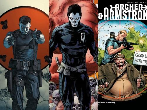 Bloodshot, Shadowman y Archer&Armstrong, las primeras adaptaciones anunciadas
