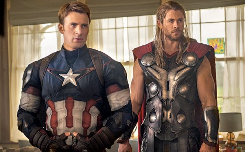 El Capi y Thor en un momento de la película