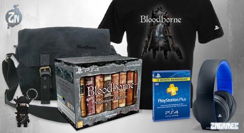 El sorteazo de Bloodborne tiene todo esto para regalar. / SONY
