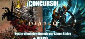 #ZNGAMES: ¡Concurso! ¡Gana Diablo III y un poster firmado por Simon Bisley!