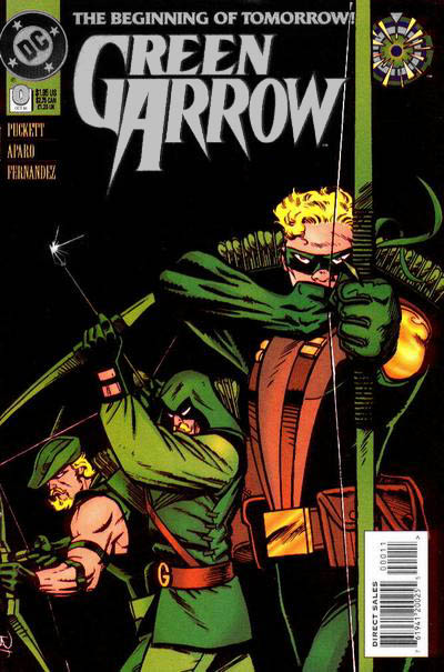 Green Arrow #0 supone la primera aparición de Connor Hawke