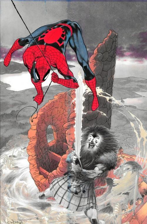 Ilustración de Charles Vess